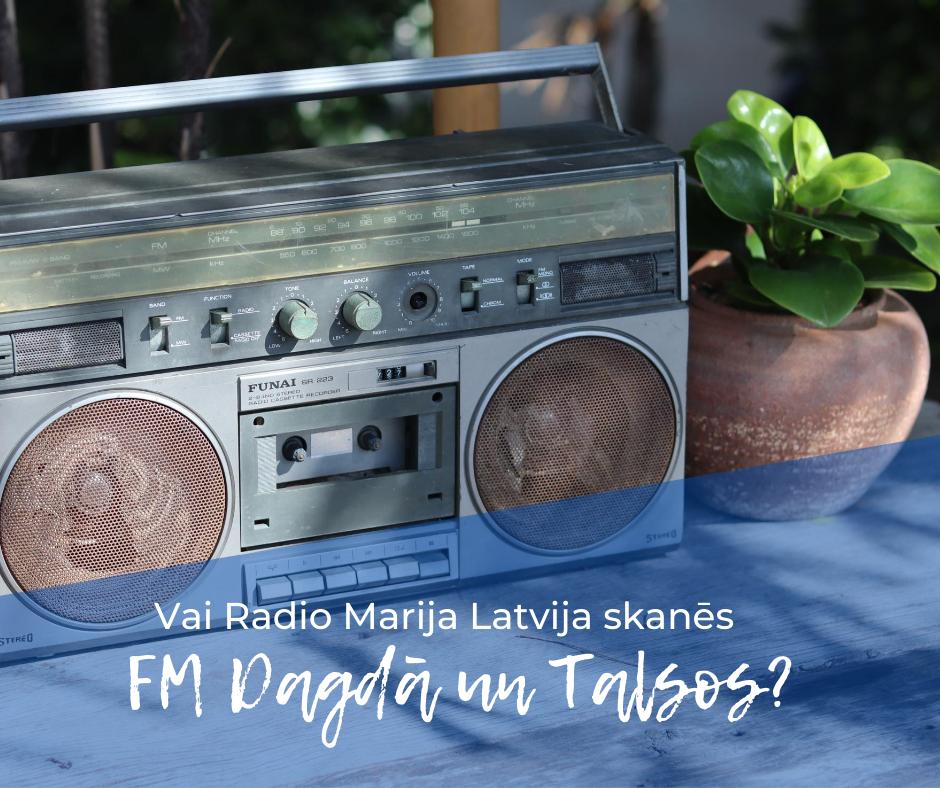 Vai RML skanēs FM Dagdā un Talsos?